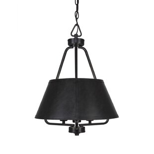 Red Barrel Studio Boalt 3-Light Cone Pendant