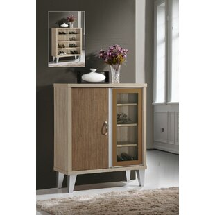 Hometime 4 Pair Shoe Storage Cabinet