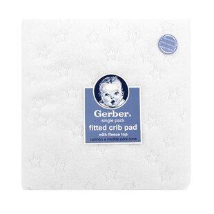 Gerber® Fleece Top Fitted Crib Pad ByGerber