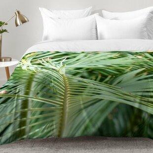 East Urban Home Whispered Fronds Comforter Set