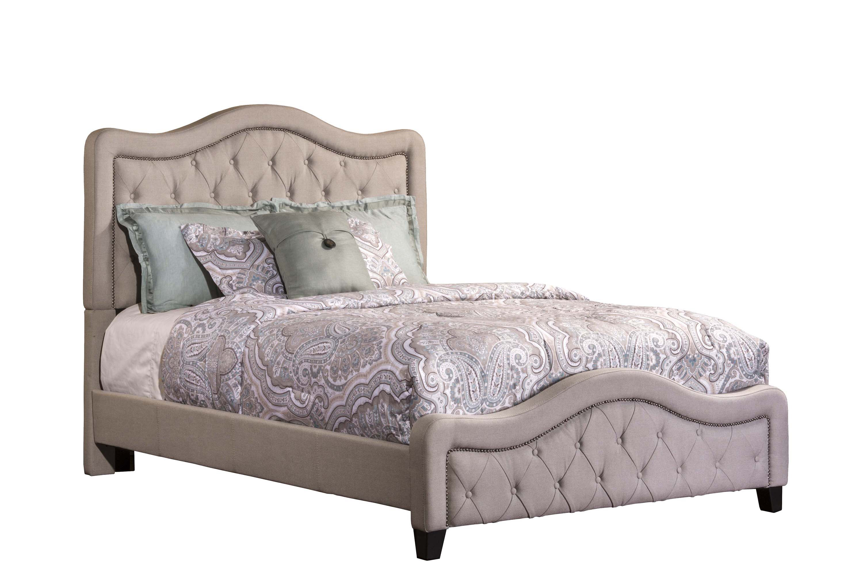 Alcott Hill Amoll Upholstered Standard Bed Wayfair