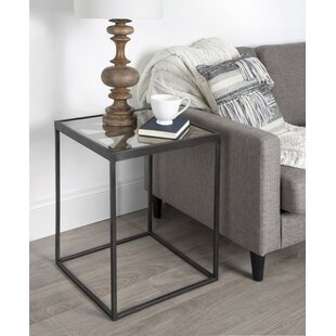 Thadine End Table by Gracie Oaks
