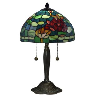 Sammy 12 Rose Tiffany Table Lamp