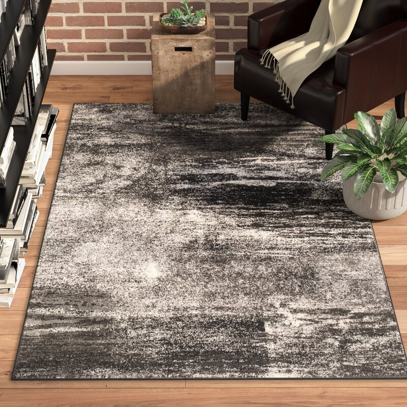 Trent Austin Design Costa Mesa Silverblack Area Rug Reviews Wayfair