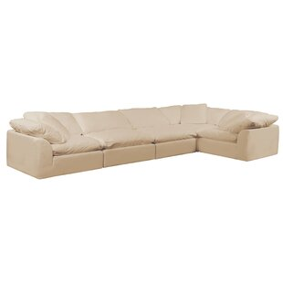 Caitlynne Slipcovered Reversible Modular Sectional