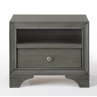 Compare & Buy Bowdoin 1 Drawer Nightstand by Alcott Hill