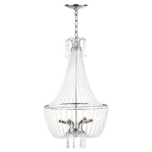 House of Hampton Claridge 4-Light Empire Chandelier