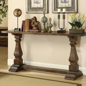 Charming Louise Console Table In Brown