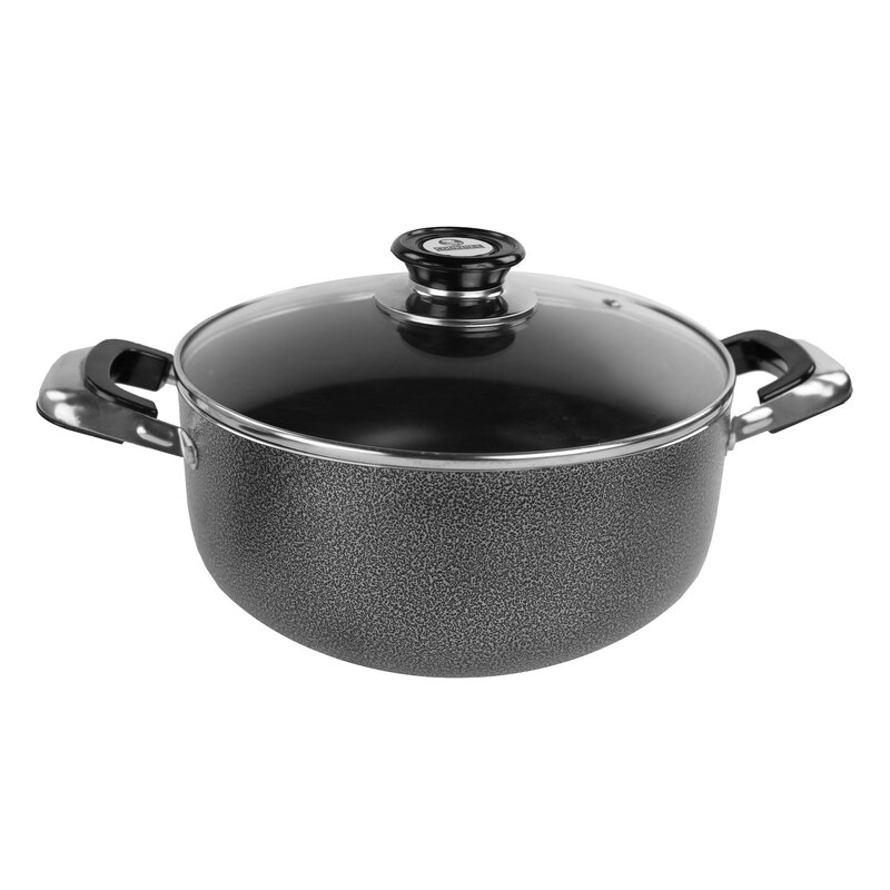 Cookinex Non Stick Aluminum Round Dutch Oven With Lid Wayfair