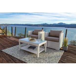 Lagoon 3 Piece Seating Group with Sunbrella Cushions