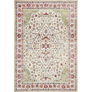 Carrico Red Area Rug