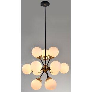 Wrought Studio Beckles 12-Light Sputnik Chandelier