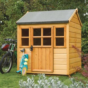 Little Lodge 4.1' X 3.9' Playhouse By Rowlinson