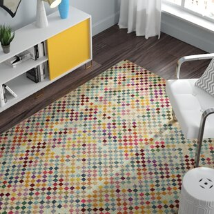 Annmarie Yellow/Green/Blue Area Rug by Turn on the Brights