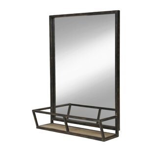 Kaufman Accent Mirror With Shelves