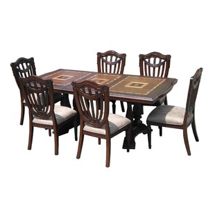 Sheraton 7 Piece Dining Set D-Art Collection