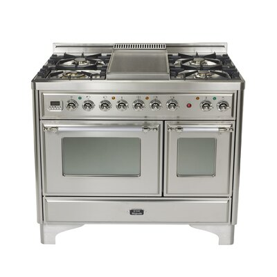 40 Free Standing Gas Range With Griddle