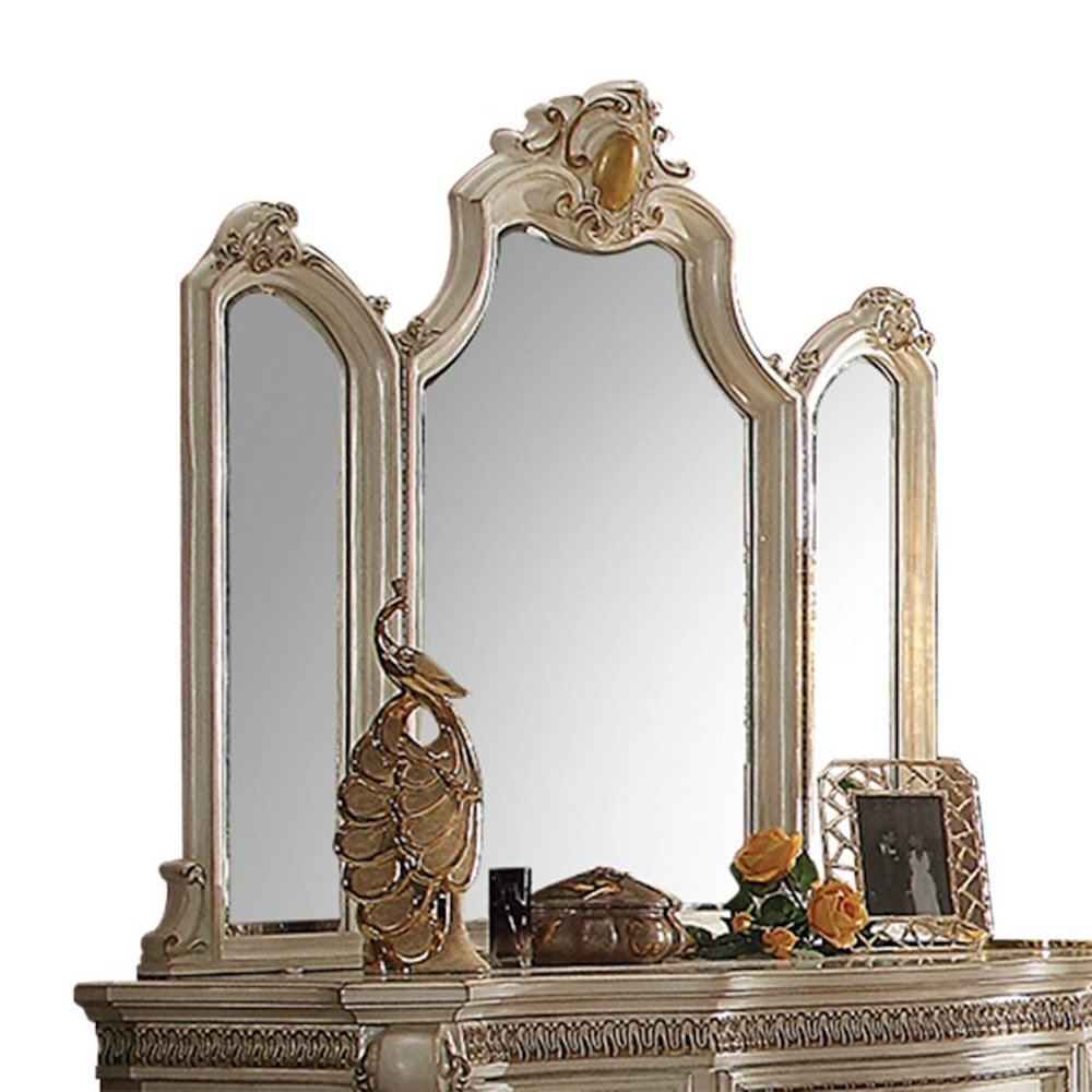 Rosdorf Park Croll Traditional Beveled Dresser Mirror Wayfair