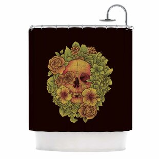 Fragrant Dead Illustration Shower Curtain