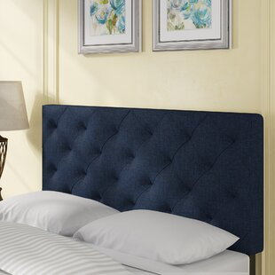 Bria Upholstered Panel Headboard by Andover Mills