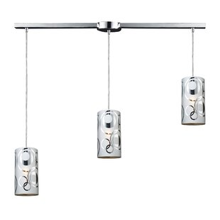 David 3-Light Cluster Pendant ..