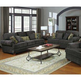 Infini Furnishings Norah 2 Piece Living Room Set