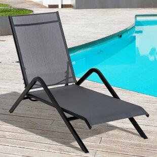 Ebern Designs Abbott Reclining Chaise Lounge