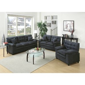 Hayleigh 3 Piece Living Room Set Part 49