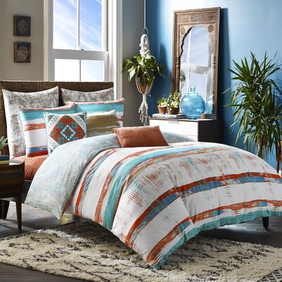 Mexico City Siesta 3 Piece Duvet Cover Set Blissliving Home Size: King