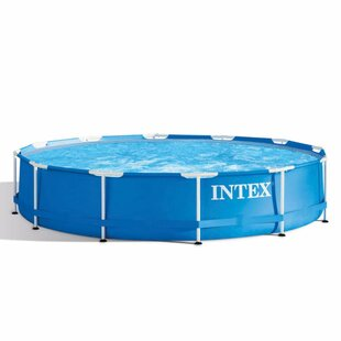 Intex 5-Person Spa With Steel Frame By VidaXL