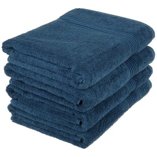 Patric 4 Piece Egyptian-Quality Cotton Bath Towel Set by The Twillery Co. Looking for