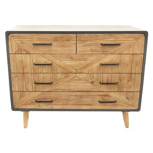 McFetridge Wood 5 Drawer Accent Chest By Ivy Bronx