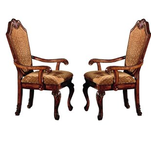 Caudillo Upholstered Dining Chair (Set of 2)