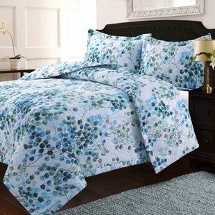 Keelee Solid Or Printed Oversized Quilt Set