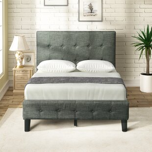 Compare Devers Upholstered Platform Bed by Ebern Designs Reviews (2019) & Buyer's Guide