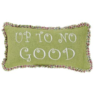 Whimsical 2 Piece Christmas Cotton Lumbar Pillow Set