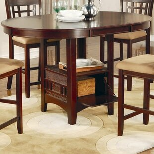 Check Prices Norwalk Counter Height Extendable Dining Table By Alcott Hill