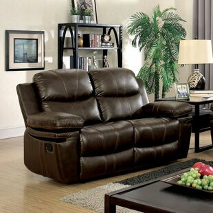 Hayden Leather Loveseat