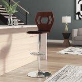 Catina Swivel Adjustable Height Bar Stool by Wade Logan®