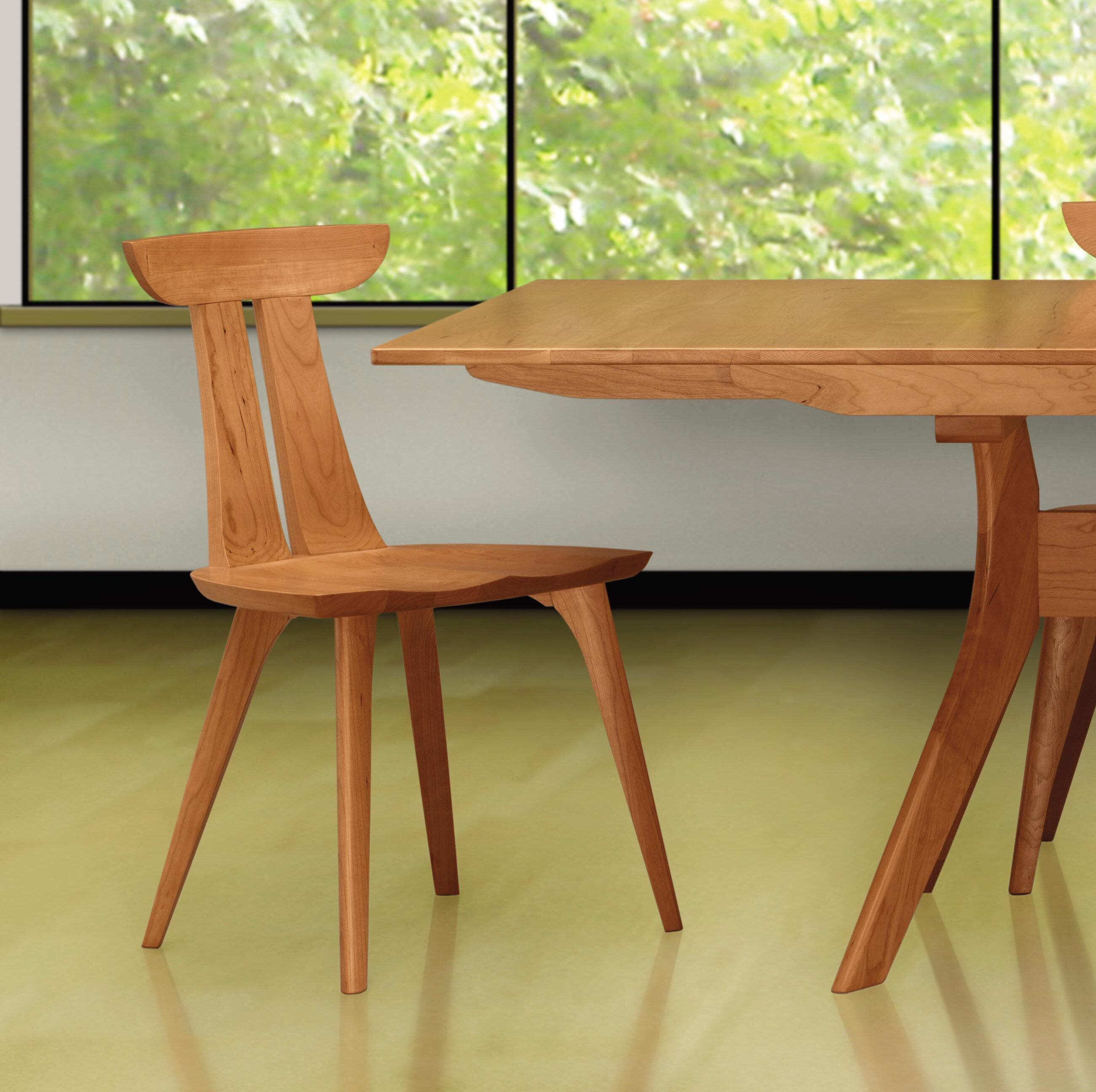 Brilliant Estelle Solid Wood Dining Chair Ibusinesslaw Wood Chair Design Ideas Ibusinesslaworg