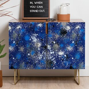 Ninola Ink Splatter Sideboard by East Urban Home