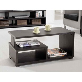 Rummel Coffee Table with Storage by Ebern..