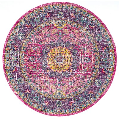 Pink Round Rugs You Ll Love In 2020 Wayfair