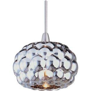 Straton 1-Light Globe Pendant by Wade Logan