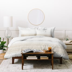 East Urban Home Holli Zollinger Tassel Duvet Set
