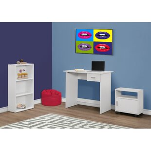 Monarch Specialties Inc. 3 Piece Standard Desk Office Suite