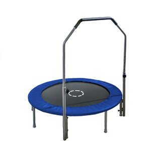 TruJump Mini 4' Round Trampoline with Handle