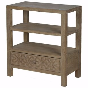 Ellyn Natural 3-Tier 1 Drawer Accent Chest by Fleur De Lis Living