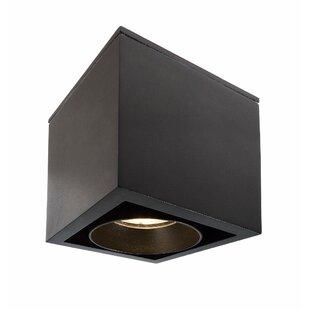 Ceti 1-Light LED Outdoor Flush Mount Image