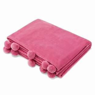Tadcaster Pom Plush Throw